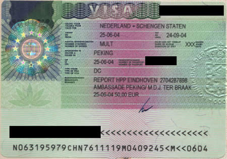 Informacion mbi vizat Shengen (schengen)