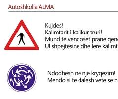 Faqja qe mungon ne librat shqiptare te autoshkollave