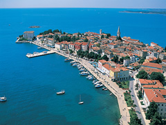 Ne Porec te Kroacise mesohet shqip