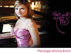 Koncert recital i pianistes Almira Emiri