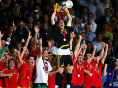 Spanja nje ekip sundues ne futbollin europian te kombetareve