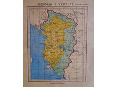 Hapet Arkivi i Shtetit: Zbulohet harta e rralle e Shqiperise