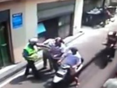 Policia Rrugore ushtron dhune ndaj qytetareve
