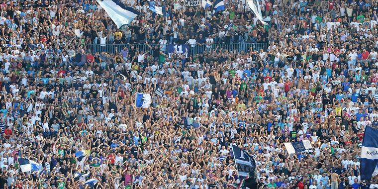 'Te ka lali shpirt' ne stadiumin e Napolit