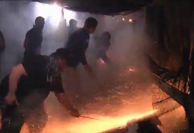 Nata e pashkeve ne Greqi, shikoni spektaklin e fishekzjarreve