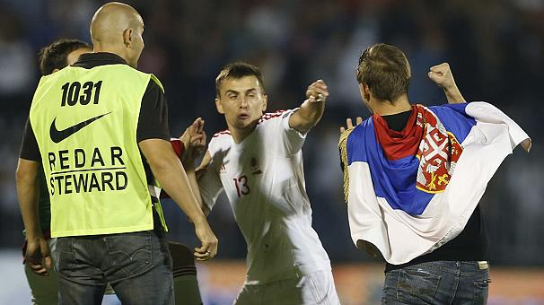 The Ugly Truth On Serbia v Albania