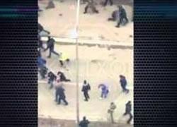Perleshje ne mes te protestuesve dhe policise