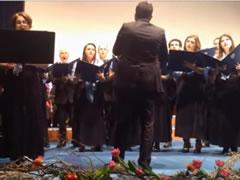 'Valsi i Vaces' kendohet shqip ne Aula Magna te Universitetit te Kietit