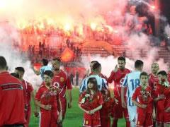 Shtyhet derbi, stadiumi 'Qemal Stafa' nuk eshte akoma gati