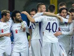 Fiorentina mposht Interin ne 'San Siro'