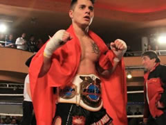 Alban Dorzi, shqiptari kampion Evrope ne 'Kickboks'