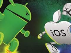 Android ka tregun, iOS zoteron perdoruesit
