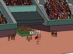 'The Simpsons' ngrene flamurin shqiptar