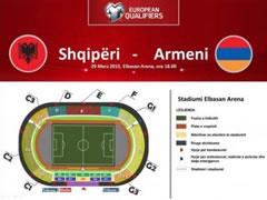 Biletat per ndeshjen me Armenine u jepen nen dore seksereve