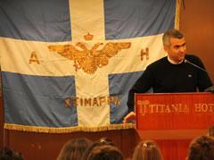 Per kryetarin e PBDNJ  Vangjel Dule, Himara eshte Greqi