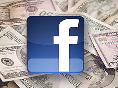 Facebook, mundesi fitimi per gazetat