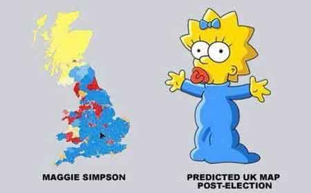 Harta e Anglise tani ngjan si Maggie Simpson