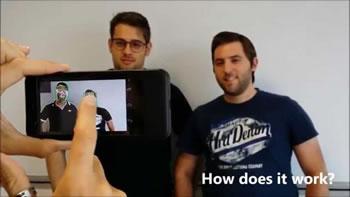 Shpiket aplikacioni qe realizon selfie per te verbrit