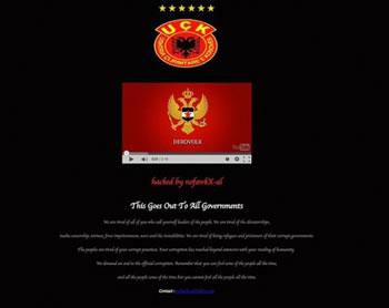 Hakeret shqiptare sulmojne faqen angleze