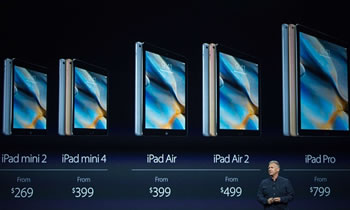 Te gjitha te rejat e Apple, nga iPhone 6s, iPhone 6s Plus, iPad Pro dhe Apple TV