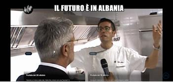 'Il futuro e in Albania!' si na shohin italianet, (Reportazhi i Le Iene)