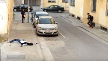 Ky eshte reagimi i qytetareve te Tiranes, kur shikojne nje vrasje