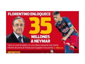 'Cmendet' Reali, i ofron rroge marramendese Neymarit