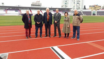 'Elbasan Arena' tashme edhe me piste atletike