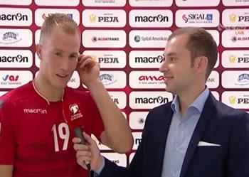 'Shpresoj qe te jem serish 'bekimi' i Shqiperise per kualifikimin'