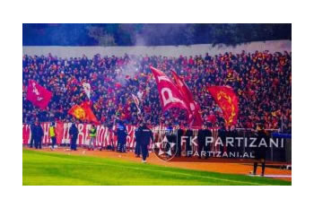 Paguan gjoben, Partizani kthen tifozet ne stadium