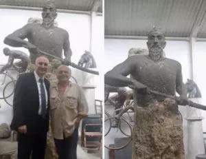 Statuja e Skenderbeut ne Hungari, reagon Dekani i Arteve: Duket si bullgar a serb, ambasadori yne eshte...