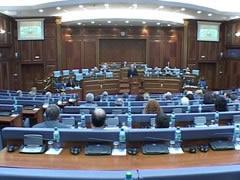 Seance simbolike ne Kuvendin e Kosoves