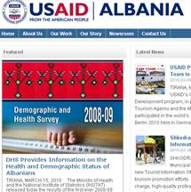 Arritjet e Shendetesise  sipas USAID