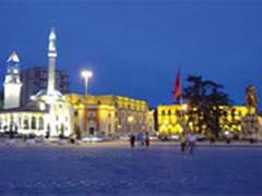 'Nata e Bardhe' e Tiranës
