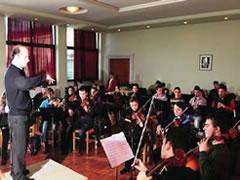 Koncert i studenteve te Fakultetit te Muzikes