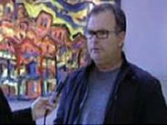 Piktori Golemi ekspozon ne 'Kledio'