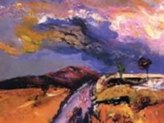 Piktori Mulliqi ekspozon ne Galerine e Arteve