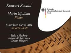 Koncert i pianistit Gjollma