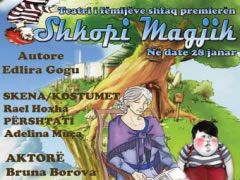 Teatri i Metropolit shfaq pjesen per femije, 'Shkopi Magjik'