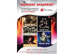 Koncert bamiresie ne Sheshin Italia