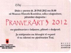 Ekspozita 'PranverArt' ne Muzeun Kombetar
