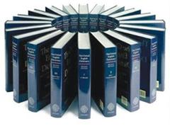 Fjalori i Oksfordit i gjuhes angleze dhe Shqiperia