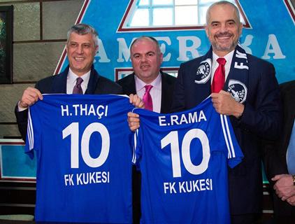 Kujtohet eksodi kosovar, Thaci-Rama: Lufta e shqiptareve, e drejte ne kerkim te lirise
