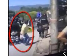 Tradhtari i shqiptareve qe nxiti dhunen ne protesta (VIDEO)