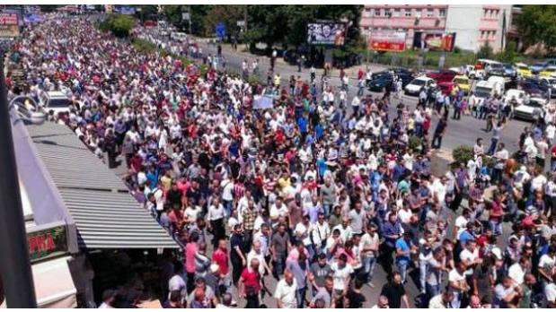 Policia ndalon protestuesit te selia e BDI-se