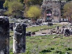 Turqi: Zbulohet ne qytetin e lashte Anavarza rruga e pare me dy korsi