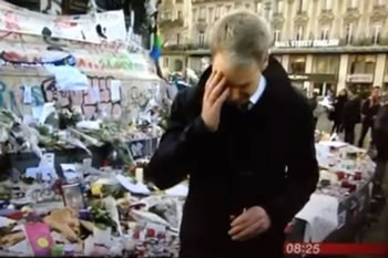 Video: Gazetari i BBC shperthen ne lot gjate transmetimit live ne Paris