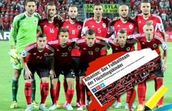 Austria e quan Shqiperine 'Xhuxhi i futbollit'!