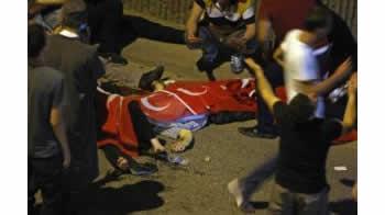 Rendohet bilanci i grushtit te shtetit: 41 police, 2 ushtare, 47 civile dhe 104 puciste te vrare