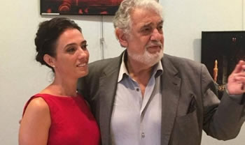 Ermonela Jaho perkrah Placido Domingos ne France